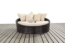 port royal small luxe day bed in brown amazon co uk garden