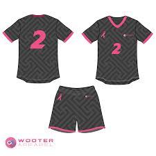 Custom Flag Football Jerseys Breast Cancer Awareness Jerseys And Uniforms U2014 Wooter Apparel Team
