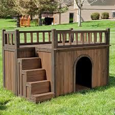 Large Igloo Dog House Boomer U0026amp George Stair Case Dog House Walmart Com