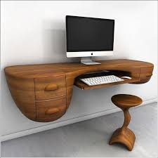 compact computer desk wood furniture wonderful design of unique computer desk with wooden