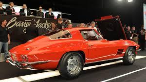 1963 thru 1967 corvettes for sale barrett jackson 2014 1967 chevrolet corvette l88 sells for 3 85