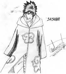 akatsuki coloring pages sasuke akatsuki by narutokyubi96 on deviantart
