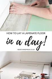 diy guide to lay a laminate floor in a single day bedrooms