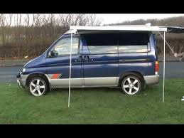 Rollout Awnings Mazda Bongo Roll Out Awning Sides Youtube