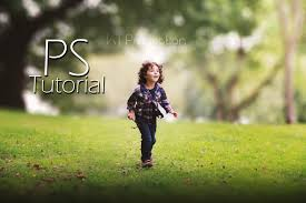photography background photoshop tutorial how to edit outdoor portrait blur