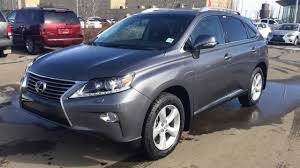 lexus rx youtube 2014 2014 lexus rx 350 awd premium package review in grey nebula pearl