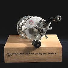 abu 5500c abu reels sport fishing museum