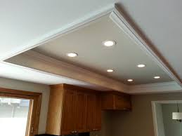 Fluorescent Light Kitchen The Custom Recessed Lights Replace Fluorescent Light Box New