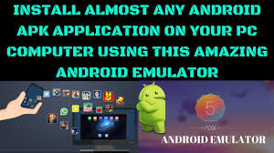 apk emulator install almost any android apk application on your pc computer