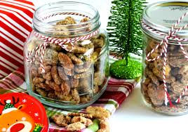christmas nuts cinnamon vanilla candied nuts