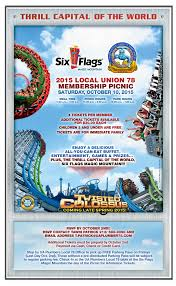 Hours Of Six Flags Fall Drips September 2015 Ua Plumbers 78