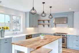 blue kitchen ideas country blue kitchen cabinet image of farmhouse distressed kitchen