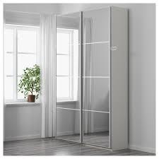 armoire miroir chambre pax armoire penderie 150x44x201 cm amortisseur pour porte