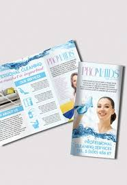 cleaning brochure template swimming pool cleaning service