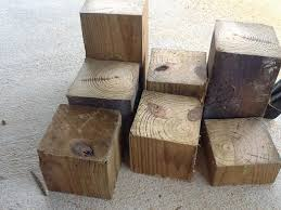 Make All From Wood Diy Pumpkins From Wood Blocks The Weekend Country