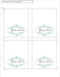 elegant place card template website also has free invitation and