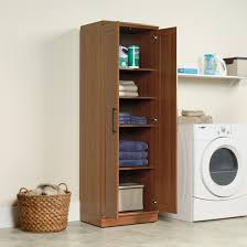 Oak Storage Cabinet Sauder Home Plus Sienna Oak Storage Cabinet 411963
