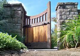 Garden Gate Garden Ideas Amazing Curved Garden Gate Design With Wood Idea Pretty Garden