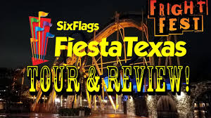 Coupons For 6 Flags Six Flags Fiesta Texas Full Park Fright Fest Tour U0026 Review