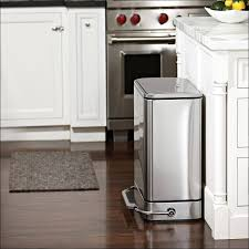 Kitchen Recycling Bins For Cabinets Kitchen Outdoor Garbage Can Cover Up Free Standing Garbage