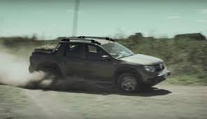 renault pickup truck renault duster oroch pickup does rugged things in new commercial