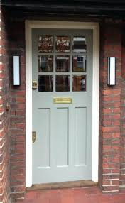 Contemporary Front Doors Front Doors The Ludlow In White And Gold Furniture Gold