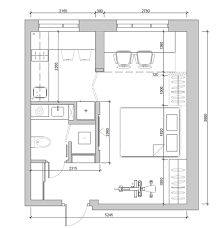 Easy Floor Plans by 4 Super Tiny Apartments Under 30 Square Meters Includes Floor Plans