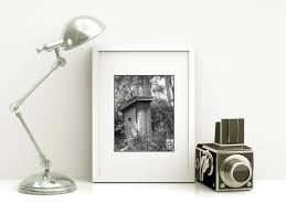 Bathroom Wall Decorations Framed Bathroom Wall Art Vintage Outhouse Photo Modern