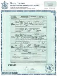 i 130 ontario marriage certificate or certified copy of license