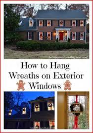 25 unique wreath on windows ideas on
