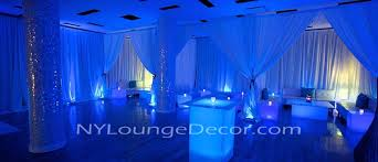 pipe and drape rental nyc ny lounge decor
