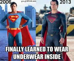 Superman Meme - superman s underwear superheroes know your meme