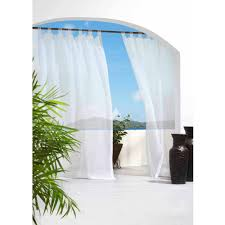 Tab Top Curtains Walmart by Escape Indoor Outdoor Tab Panel Walmart Com
