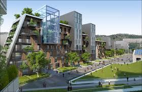 citta della scienza masterplan predicts future of self sustaining residential image courtesy of vincent callebaut architecture
