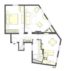 Apartment Plan 1 Bedroom Eiffel Tower Apartment Great Alternative To Eiffel