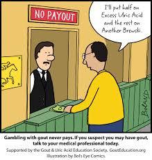 cartoon no alcohol gout cartoons