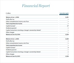 company report format template 21 free financial report template word excel formats