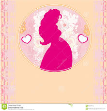 baby shower cartoon invitation stock photography image 32537442