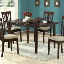Small Dining Table With Leaf by Dining Tables Small Dining Room Sets Large Round Dining Table