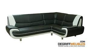 canapé d angle noir et blanc pas cher canape canape d angle simili cuir noir canape angle simili cuir