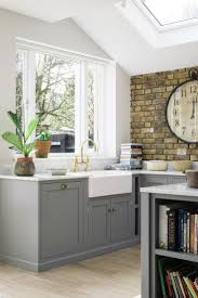 kitchen ideas textured wallpaper backsplash modern kitchen