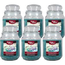 better homes and gardens 18 ounce candles fresh ocean flower 6 by