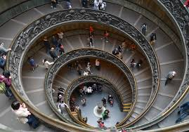 file circular staircase of the vatican museums jpg wikimedia commons