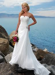 casual wedding dresses uk 7 stylish strapless wedding dresses for your big day cherry