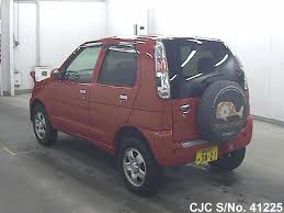daihatsu terios 2000 2008 daihatsu terios kid red for sale stock no 41225 japanese