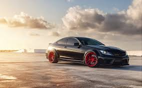 mercedes benz biome wallpaper mercedes benz c63 red rims wallpaper by hd wallpapers daily