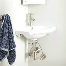 porcelain wall mount sink corner wall mount sinks sorosconnection info