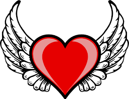 Hearts With Wings - wing logo clip at clker com vector clip