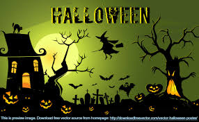 halloween party invitation background ghost vector u0026 graphics to download