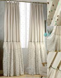 Teal And Beige Curtains Polka Dot Curtains Pink Black White Red Blue Green Yellow